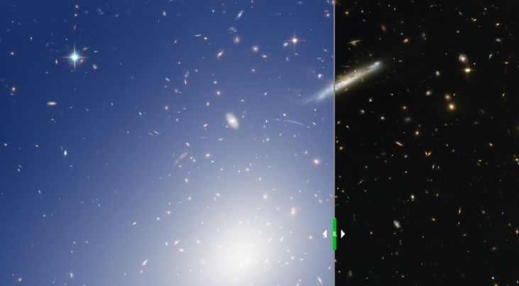 RCS2 J2327 (c) ESO, ESA/Hubble & NASA