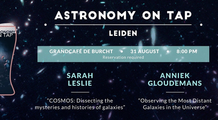 Astronomy on Tap: Galaxies near and far (Leiden)