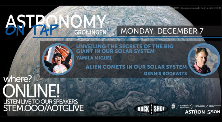 AoT Groningen (online): The Secrets of Saturn & Alien Comets in our Solar System